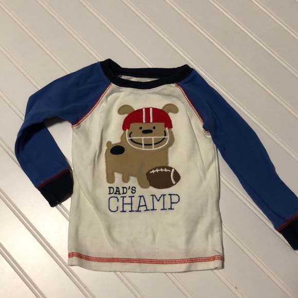 Boys' Clothing (newborn-5t) Nwot Just One You Carter's 9 Month Long Sleeve One Piece Top Shirt Boy Set Bear